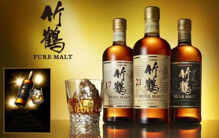 Taketsuru pure malt Whisky 竹鶴純麥威士忌