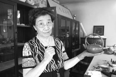 周桂珍 老紫砂茶壺