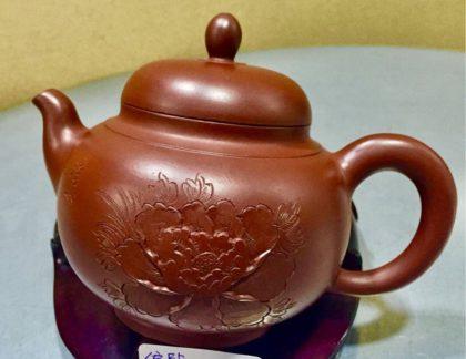 紫砂陶藝名師 高健芳 手製原礦紫砂壼
