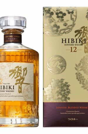 Suntory Hibiki 12Y Whisky special edition 三得利 響 12年花烏風月特別版